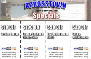 New Acrosstown Door Specials